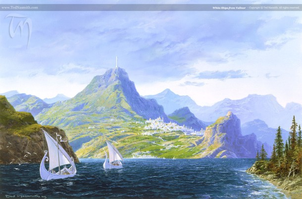 White Ships From Valinor