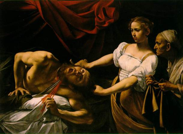 Caravaggio - Judita și Holofern