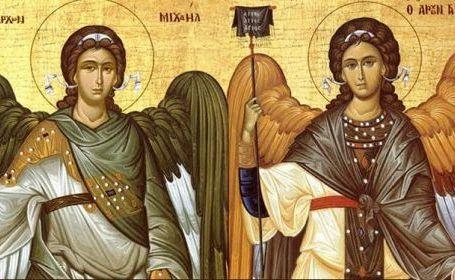 Sfinţii-Arhangheli-Mihail-şi-Gavriil