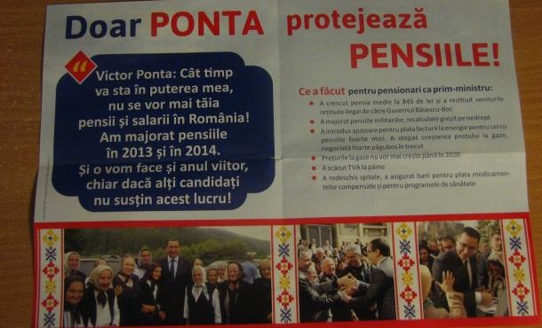 ponta pensii