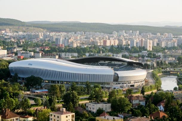 Stadionul Cluj Arena din Cluj-Napoca. 19.08.2011