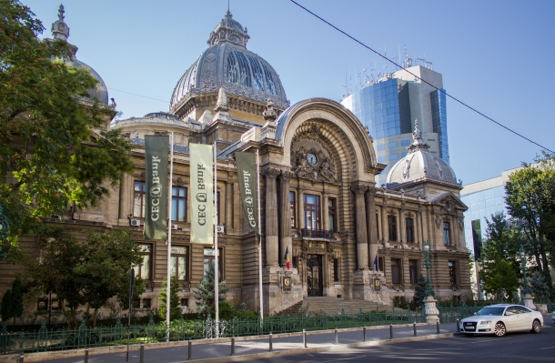 Palatul Casei de Depuneri și Consemnațiuni în 2012