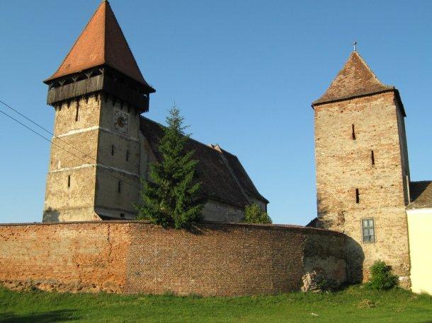 Brateiu -Biserica fortificată