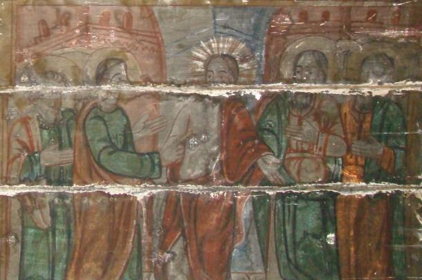 Frescă din Biserica de lemn